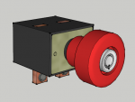 E-Streetquad Emergency switch 3D drawing
