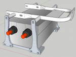 E-Streetquad 3D drawing of controller mounts done